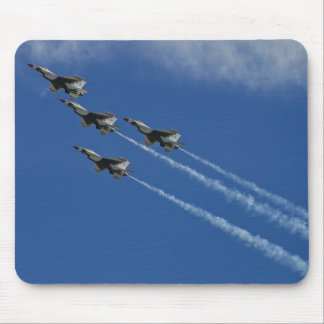 USAF Thunderbirds Arrowhead Loop mousepad