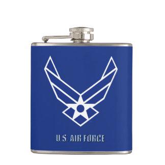 USAF Vinyl Wrapped Flask