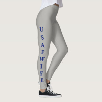 """USAF WIFE"" Women's Leggings"