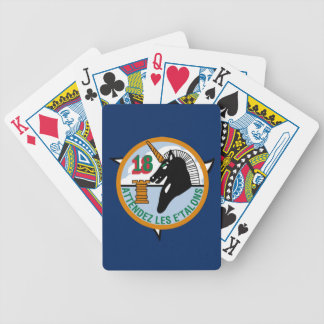 USAFA Cadet Squadron 18 Bicycle Playing Cards