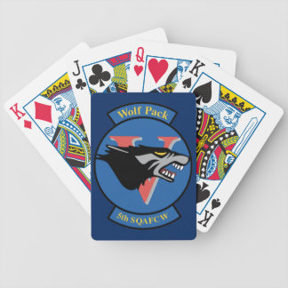 USAFA Cadet Squadron 5 Bicycle Playing Cards