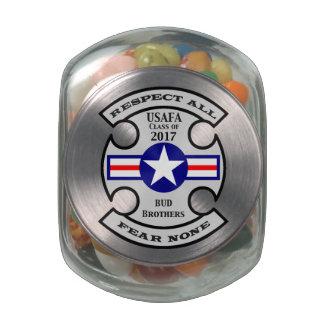 USAFA Class of 2017 Jelly Belly™ Glass Jar