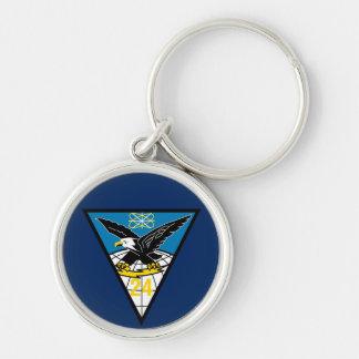 USAFA Squadron 24 Premium Key Chain