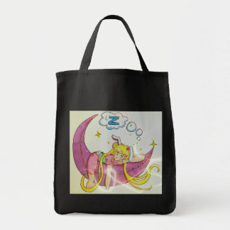 Usagi moon fanart tote bag