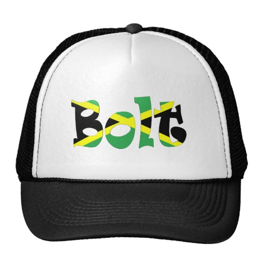 Usain Bolt Jamaican Flag Hat