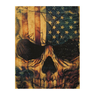 uSaKULL Wood Wall Art