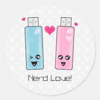 USB Flash Drive Love Sticker