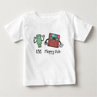 USB Floppy Disk Baby T-Shirt