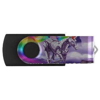 USB key, Black Unicorn Swivel USB 3.0 Flash Drive