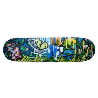 USButterfly Watching - Street Art Sk8 Deck Custom Skate Board
