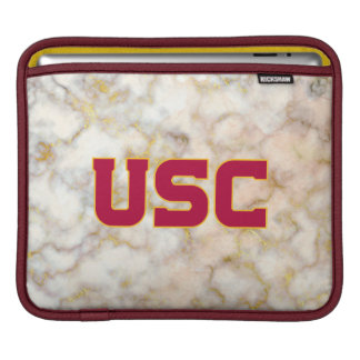 USC Trojans | Rose Gold Marble iPad Sleeve