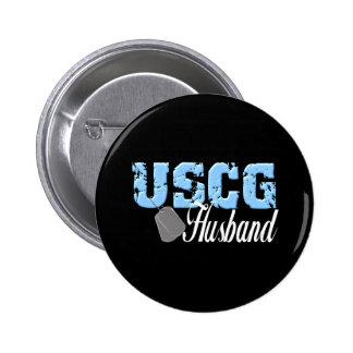uscg99husband3blk pinback button