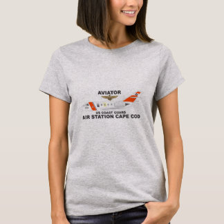 USCG Air Station Cape Cod Aviator T-Shirt