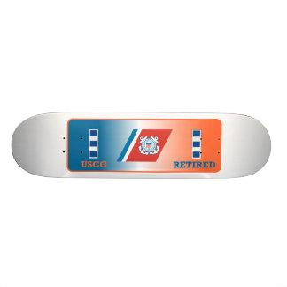 USCG Chief Warrant Officer 4 Retired Shield. Skateboard Decks