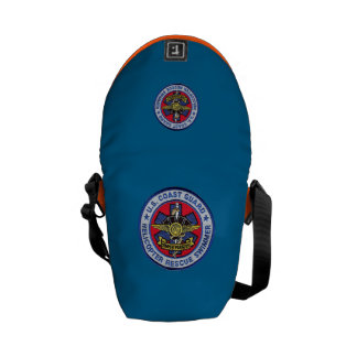 USCG Helicopter Rescue Swimmer Mini Bag Messenger Bags