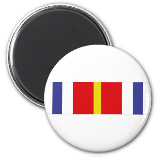 USCG Honor Graduate Ribbon 6 Cm Round Magnet