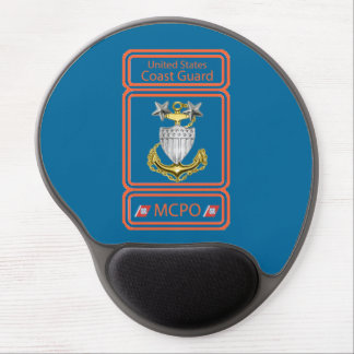 USCG Master Chief Logo Gel Mouse Pad