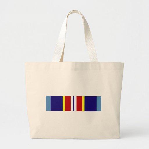 USCG Overseas Service Ribbon Canvas Bag