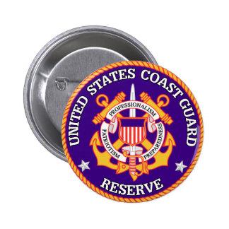 USCG Reserve Seal Pinback Button