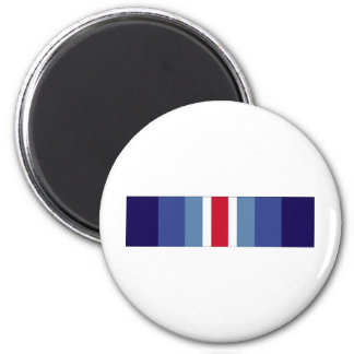 USCG Restricted Duty Ribbon 6 Cm Round Magnet