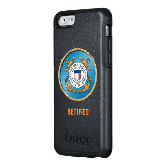 USCG Ret. OtterBox Various iphone & Samsung Cases