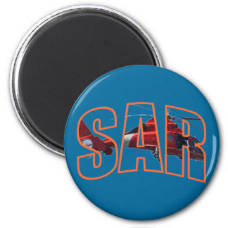 USCG  SAR 6 CM ROUND MAGNET