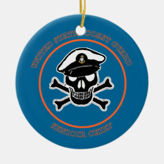 USCG Senior Chief Petty Officer Christmas Ornament