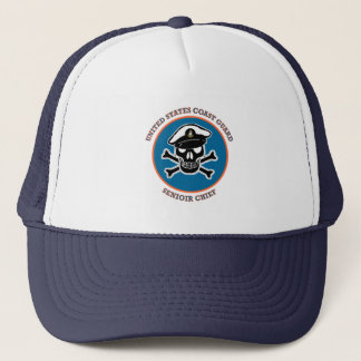 USCG Senior Chief Petty Officer Trucker Hat