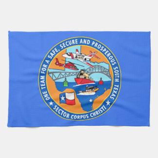 USCG Station Corpus Christi Texas Kitchen Towels