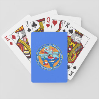 USCG Station Corpus Christi Texas Playing Cards