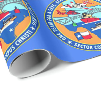 USCG Station Corpus Christi Texas Wrapping Paper