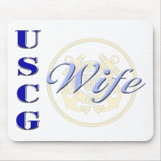USCG Wife Mousepad