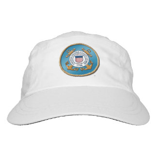 USCG Woven Performance Hat, White Hat