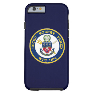 "USCGC Robert Yered WPC-1104 ""Navy Blue"" Tough iPhone 6 Case"