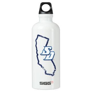 USD   Vintage California State Logo Water Bottle