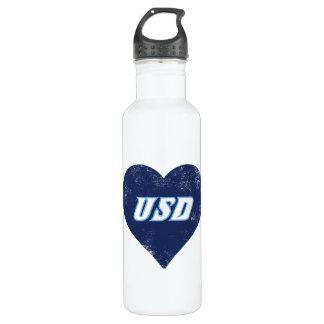 USD Vintage Heart 710 Ml Water Bottle