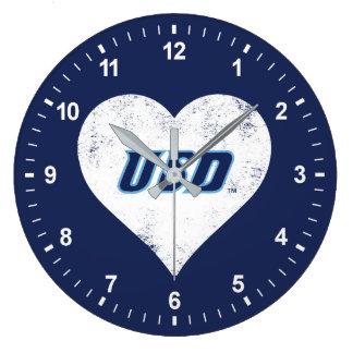 USD Vintage Heart Large Clock