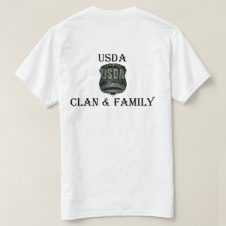 USDA Clan & Family T-Shirt