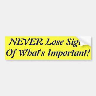 Use Care Bumper Sticker