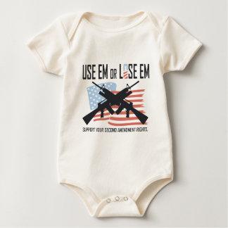 Use em or Lose em Baby Bodysuit