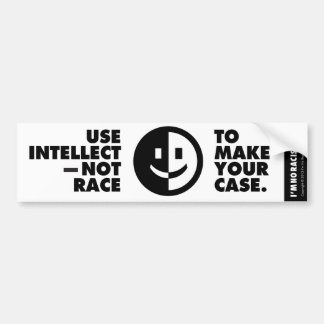 Use Intellect Bumper Sticker