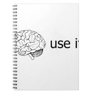 use it spiral notebook