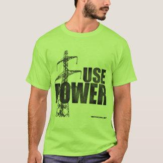 USE POWER Green T-Shirt