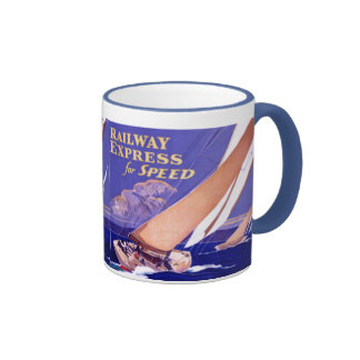 Use Railway Express For Speedy Delivery. Coffee Mug
