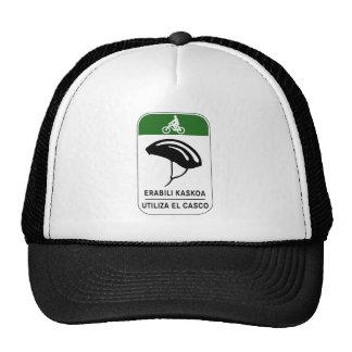 Use The Helmet, Traffic Sign, Spain Trucker Hats