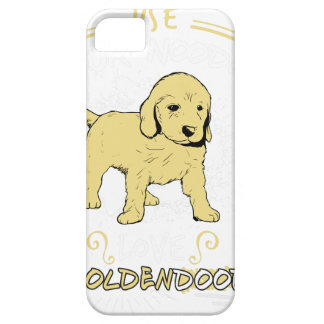 Use Your Noodle, Love a Goldendoodle Barely There iPhone 5 Case