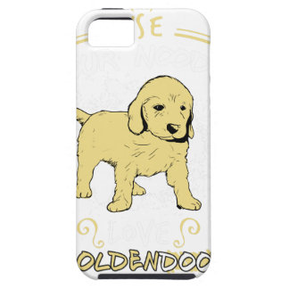 Use Your Noodle, Love a Goldendoodle iPhone 5 Cover