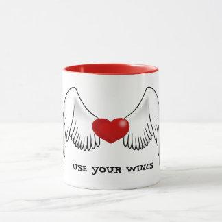 Use Your Wings Mug