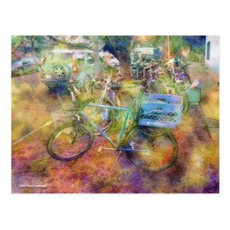Used Bikes Postcard