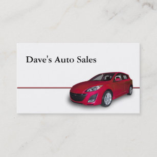 Used car dealer business cards business card printing zazzle used car dealer business card reheart Image collections